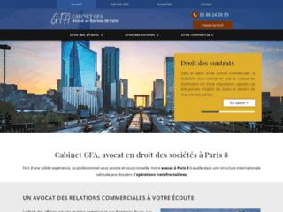 Cabinet GFA, avocat à Paris 8, Paris 9