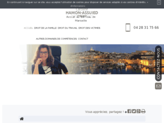 Détails : Me Caroline Hamon Assuied, avocate au barreau de Marseille