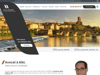 Maître Antonin HUDRISIER, avocat en droit public à Albi