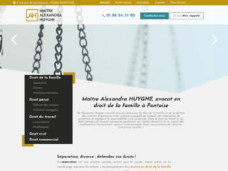 Détails : Maître Alexandra HUYGHE, Avocat à Pontoise