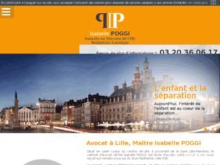 Avocat divorce Lille, Maître Isabelle POGGI