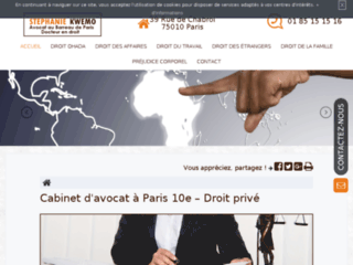 Détails : Cabinet d'avocat en droit du travail à Paris 10ème