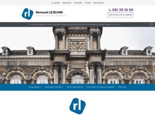 Détails : Maître Renaud LEJEUNE
