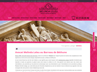 Cabinet de Maître Melinda Leleu : avocat au barreau de Béthune