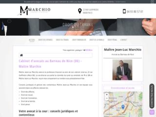 Détails : Me Jean-Luc Marchio, avocat en droit du travail à Nice