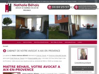 Avocate en droit du travail à Aix-en-Provence
