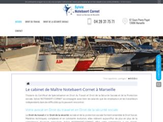 Détails : Cabinet de Maître Notebaert-Cornet à Marseille