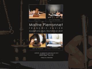 Détails : Me François-Xavier Pierronnet, avocat à la cour Montpellier