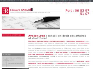 Détails : Maître Edouard Rabatel, avocat en droit fiscal Lyon