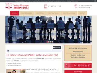 Détails : Maître Rahon-Witz, avocat en droit de la famille