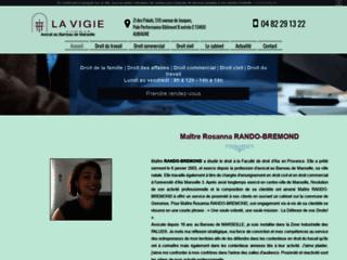 Me Rosanna Rando-Bremond, avocat au barreau de Marseille à Gémenos