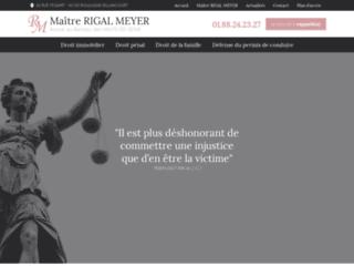 Maître RIGAL MEYER : une avocate compétente