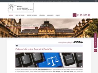 Détails : Avocat Sandra SellemToledano au barreau de Paris