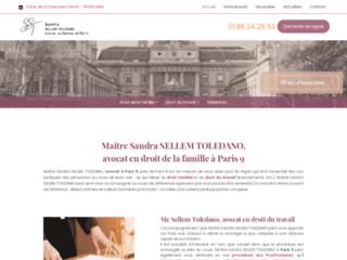 Maître Sandra SELLEM TOLEDANO, avocat à Paris 9