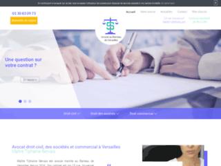 Avocat en droit civil, des sociétés et commercial à Versailles