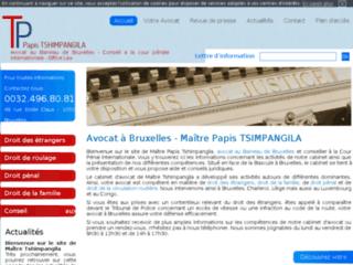 Détails : Cabinet d'avocat à Bruxelles