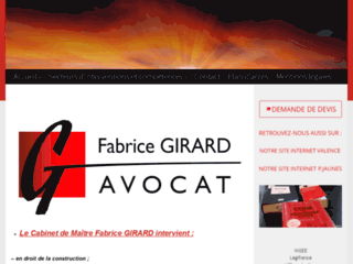 Avocat Valence, Maitre Girard