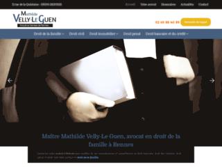 Maître Mathilde Velly-Le Guen, avocat à Rennes