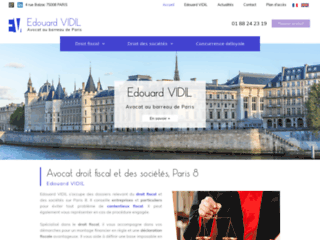 Avocat droit fiscal Paris 8