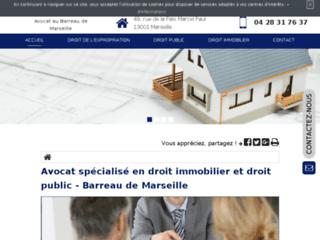 Détails : Me Alain Xoual, avocat en droit de l'expropriation à Marseille