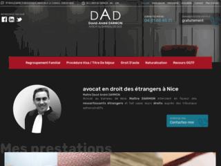 Maître David André Darmon, avocat en droit des étrangers à Nice