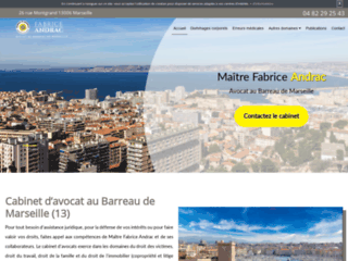Détails : Me Fabrice Andrac, avocat au Barreau de Marseille