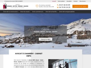 Avocat à Chambéry - Cabinet DBPG