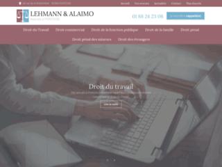 Maîtres Alaimo et Lehmann, Avocat à Pontoise