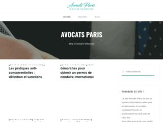 Le site Avocats Paris pour trouver un bon expert juridique dans votre arrondissement