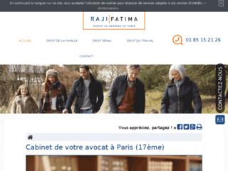 Détails : Maître Fatima Raji, droit du travail