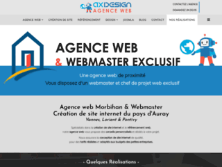 Détails : Webmaster Indépendant   Référenceur   AX-design