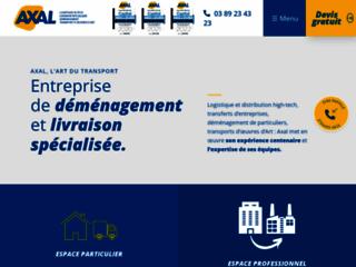 Détails : AXAL, entreprise de déménagement en Alsace