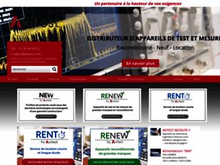 Axistest, distributeur d'appareils de mesure laboratoire