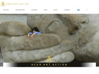 Galerie d'art comtemporain en ligne - Azur Art Action