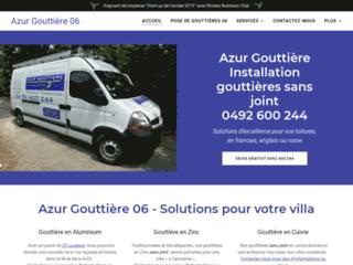 Azur Gouttière 06