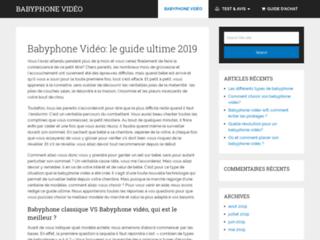 Meilleur babyphone vidéo 2019 : conseils et guide d'achat