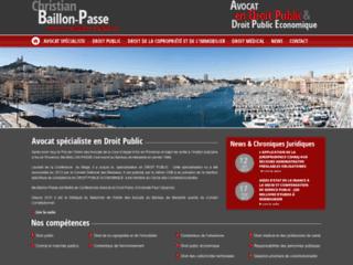 Détails : Cabinet Droit Public - Me Baillon-Passe