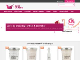 Bain et Cosmetics, vente de produits et accessoires cosmétiques pour le bain