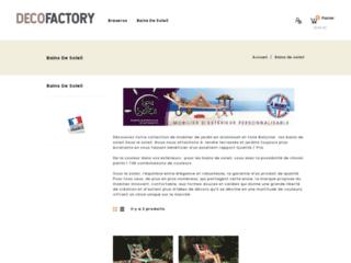 Détails : Bains de Soleil Createc – Bains de soleil en Aluminium
