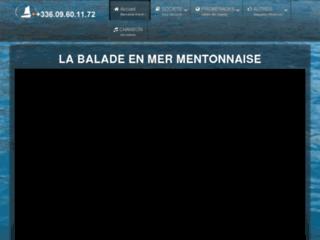 Détails : La balade en mer Mentonnaise