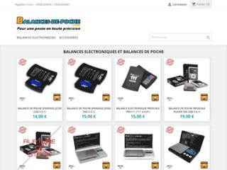 balances de poche électroniques
