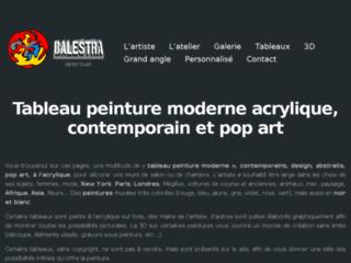 Détails : Découvrez Balestra, artiste contemporain spécialisé dans le Pop Art