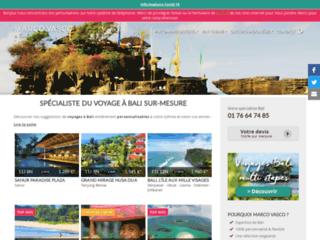 Pour un voyage à Bali