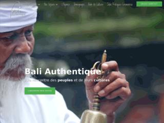 Agence de voyages locale à Bali