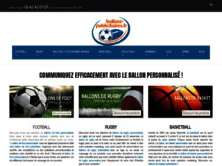 Détails : Ballons publicitaires avec votre logo