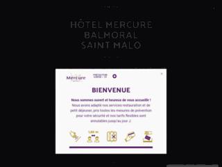 Détails : Best Western Hôtel Balmoral à Saint Malo, 3 étoiles