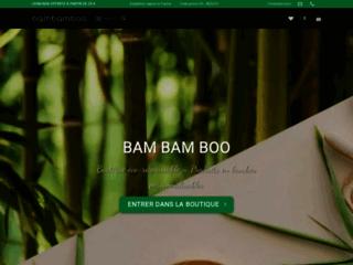 Bambamboo Les spécialistes des produits en Bambous ecologique
