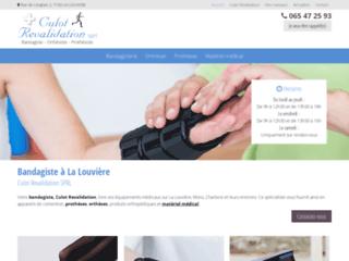 Culot Revalidation SPRL: Bandagiste à La Louvière, Mons