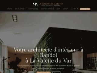 La Maison des Archis, architecte d'intérieur à Bandol