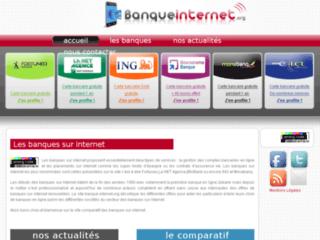 Détails : Banque internet